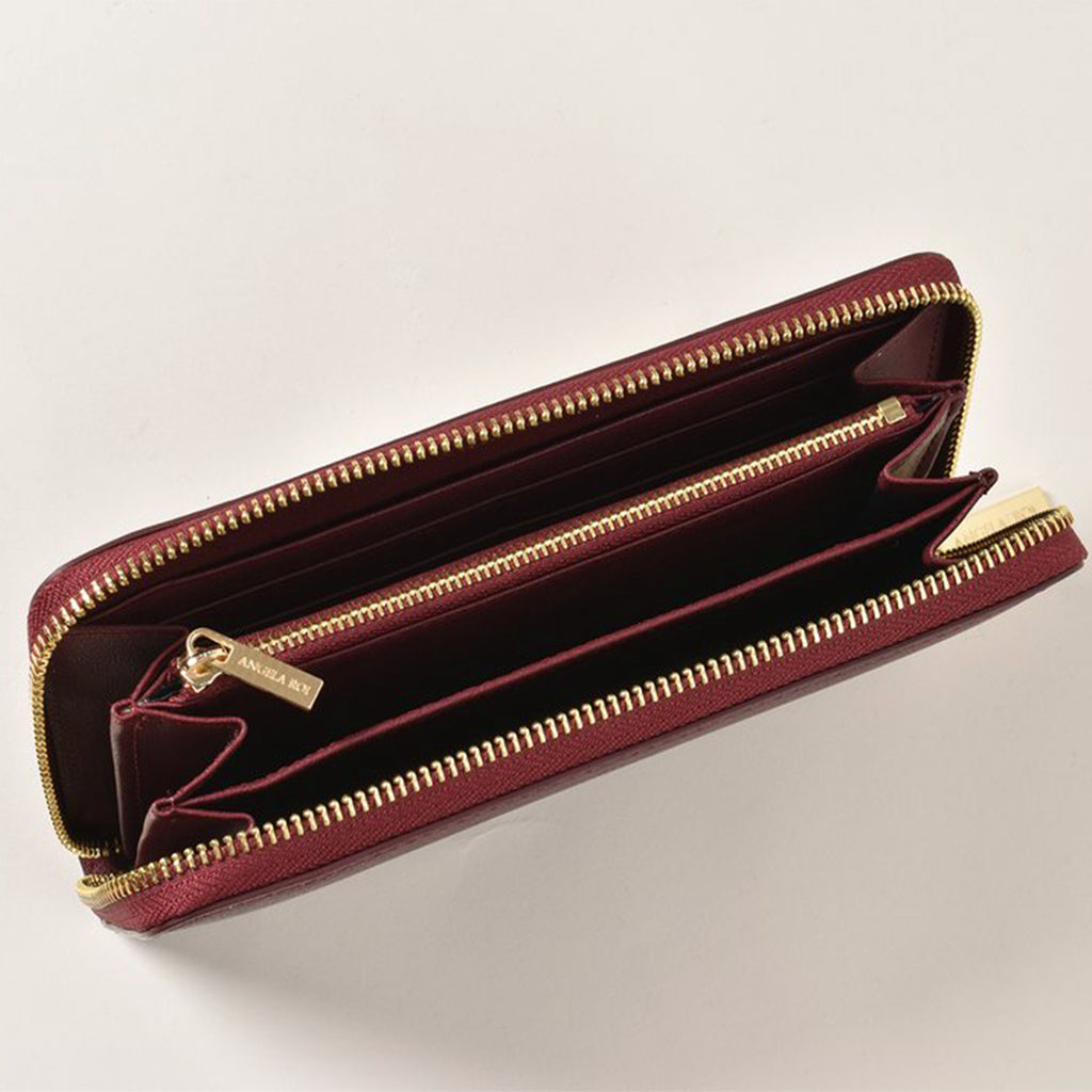 Olivia Z Wallet - Bordeaux [Sample Sale]