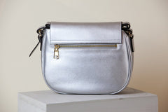 Morning Cross-body -  Silver (Sample Sale)