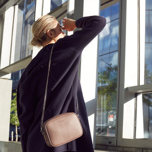 Grace Mini Cross-body - Light Mud Gray [Sample Sale]