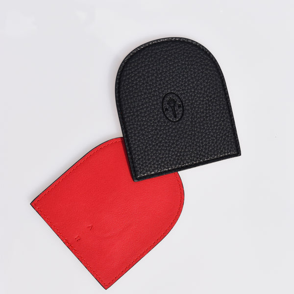 AR Coaster Set - Black / Red