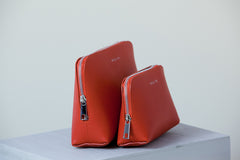 Elle Cosmetic Case Set - Vermilion