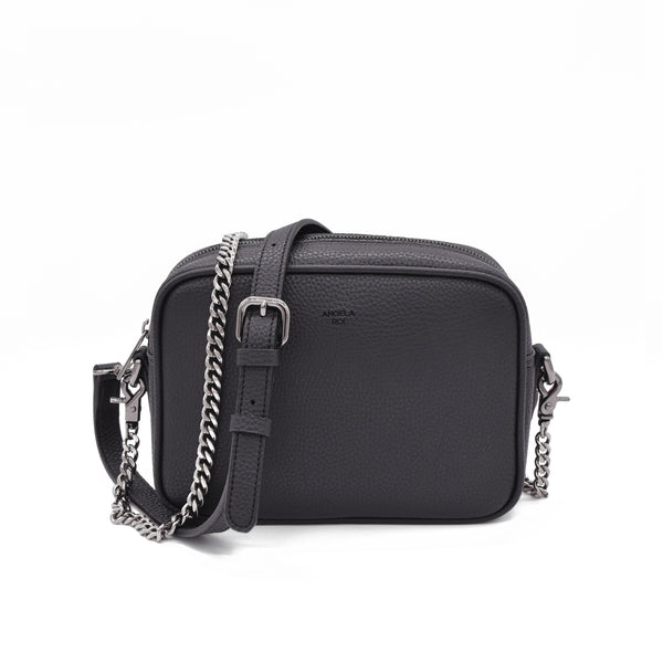 Grace Mini Crossbody [Signet] - Black [Sample Sale]
