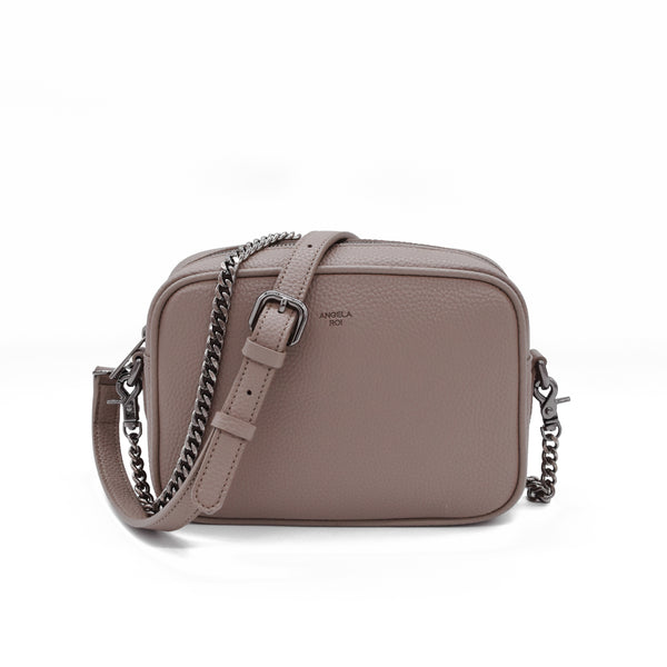 Grace Mini Crossbody [Signet] - Light Mud Gray [Sample Sale]