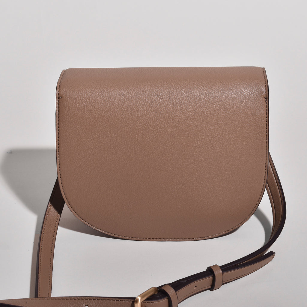 Hamilton Round Cross-body - Mud Beige