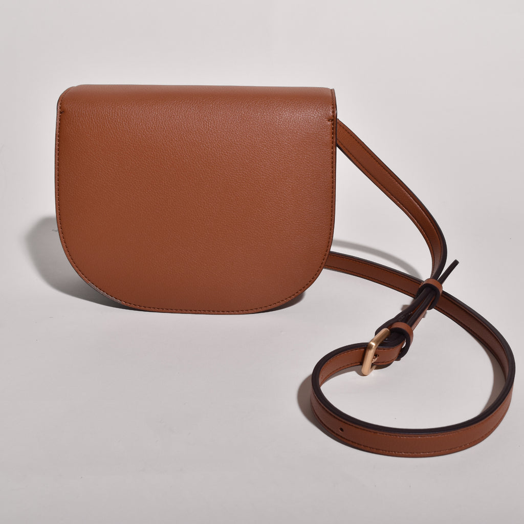 Hamilton Round Cross-body - Brown