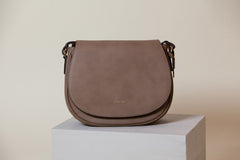 Morning Cross-body -  Mud Gray (Sample Sale)