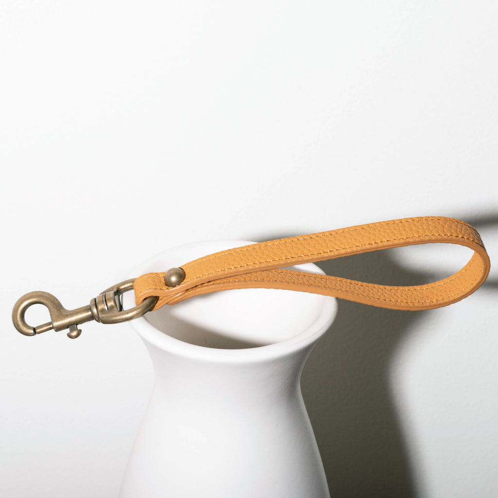 Angelou Hand Strap - Mustard [Sample Sale]