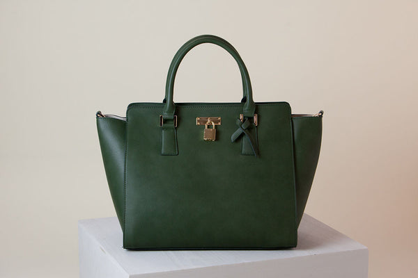 Sunday Tote II - Dark Green
