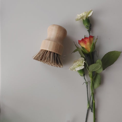 Compostable Wooden Scrub Brush