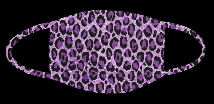 36. Purple Cheetah Mask