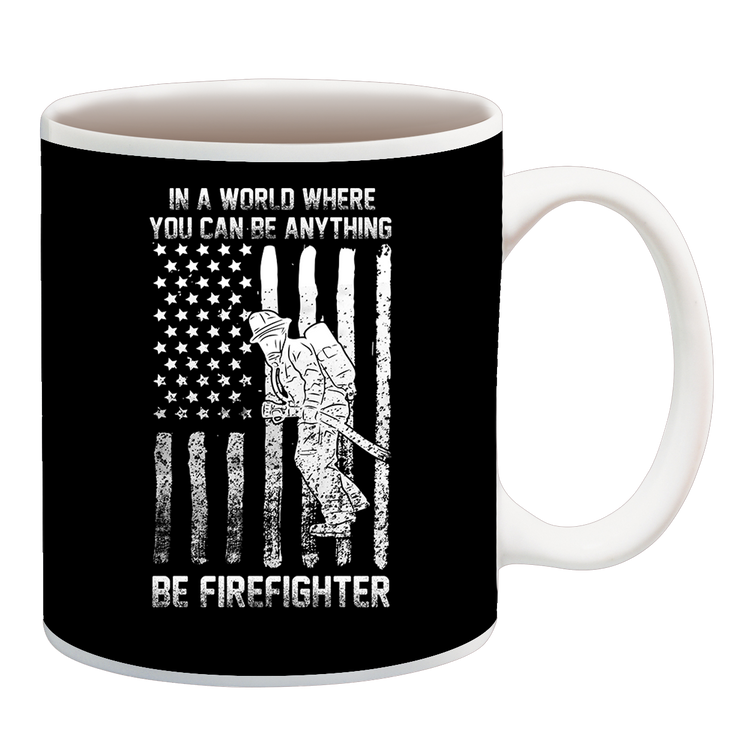 BE FIREFIGHTER CUP