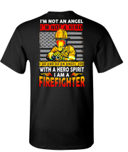 Im A Firefighter Short Sleeve T-Shirt - Black