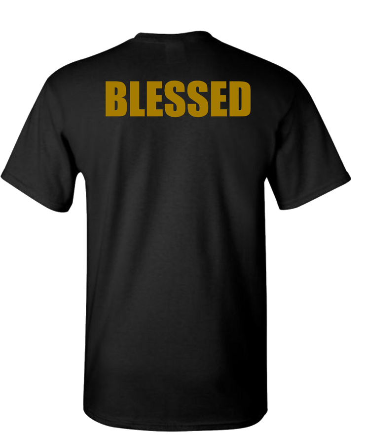 Blessed Short Sleeve T-Shirt - Black