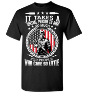 It Takes A Special Person Short Sleeve T-Shirt - Black