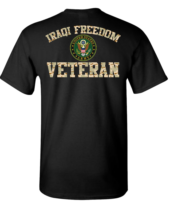 Iraqi Freedom Army 2 Short Sleeve T-Shirt