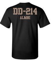 Desert Storm DD214 Short Sleeve T-Shirt - Black
