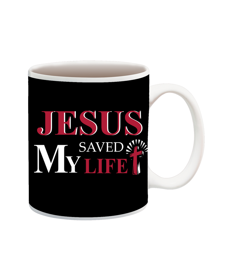 Jesus Saved My Life Cup