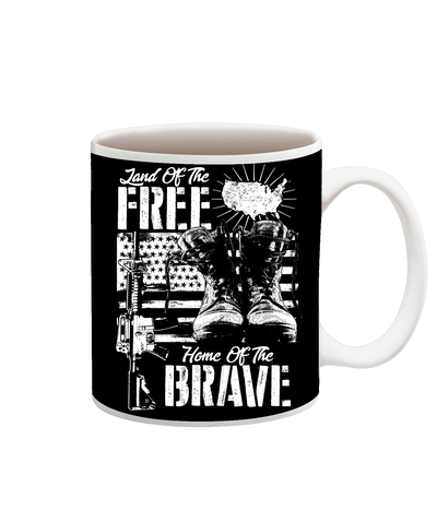 Land Of The Free Home Of The Brave Cup