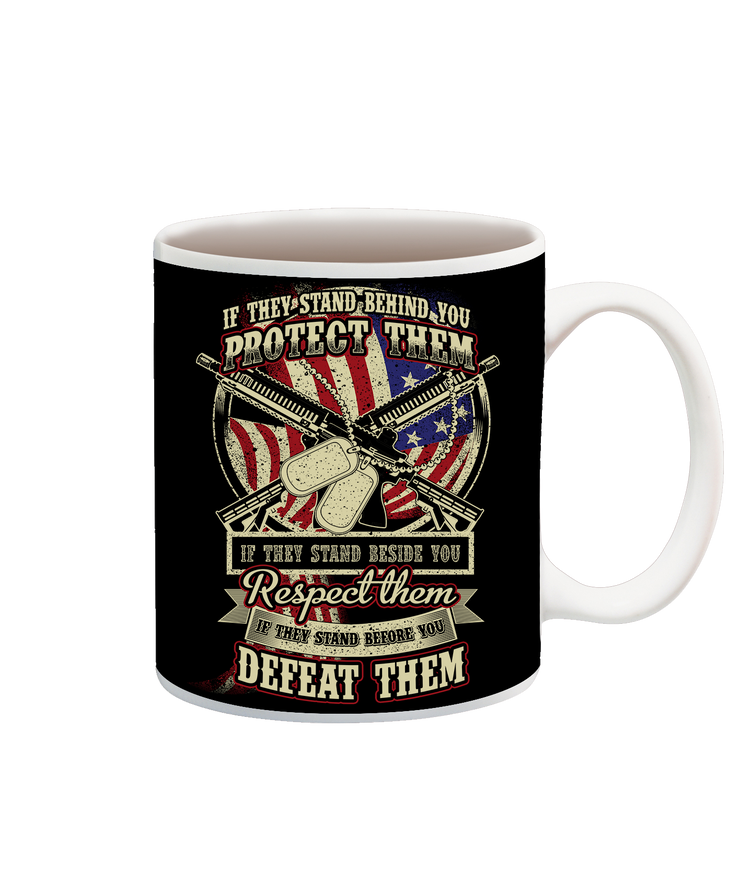 Protect Respect Defeat Cup