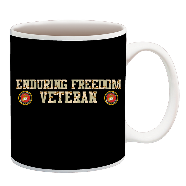 ENDURING FREEDOM USMC 2 CUP