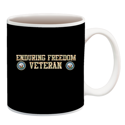 Enduring Freedom Navy 2 Camo Cup