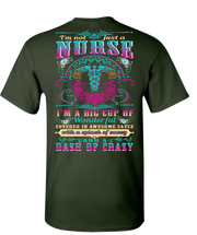 Awesome Nurse Short Sleeve T-Shirt - Green
