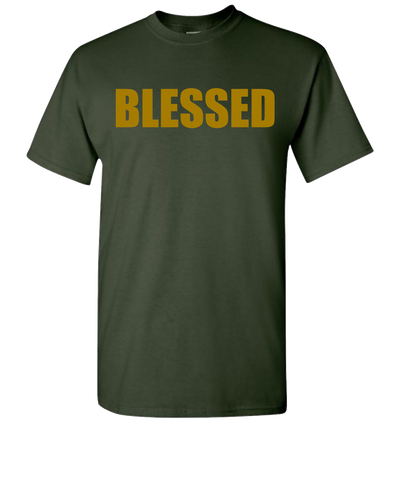 Blessed Short Sleeve T-Shirt - Green