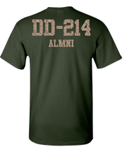 Desert Storm DD214 Short Sleeve T-Shirt - Green