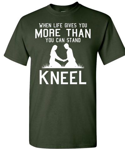 Kneel Short Sleeve T-Shirt - Forest Green