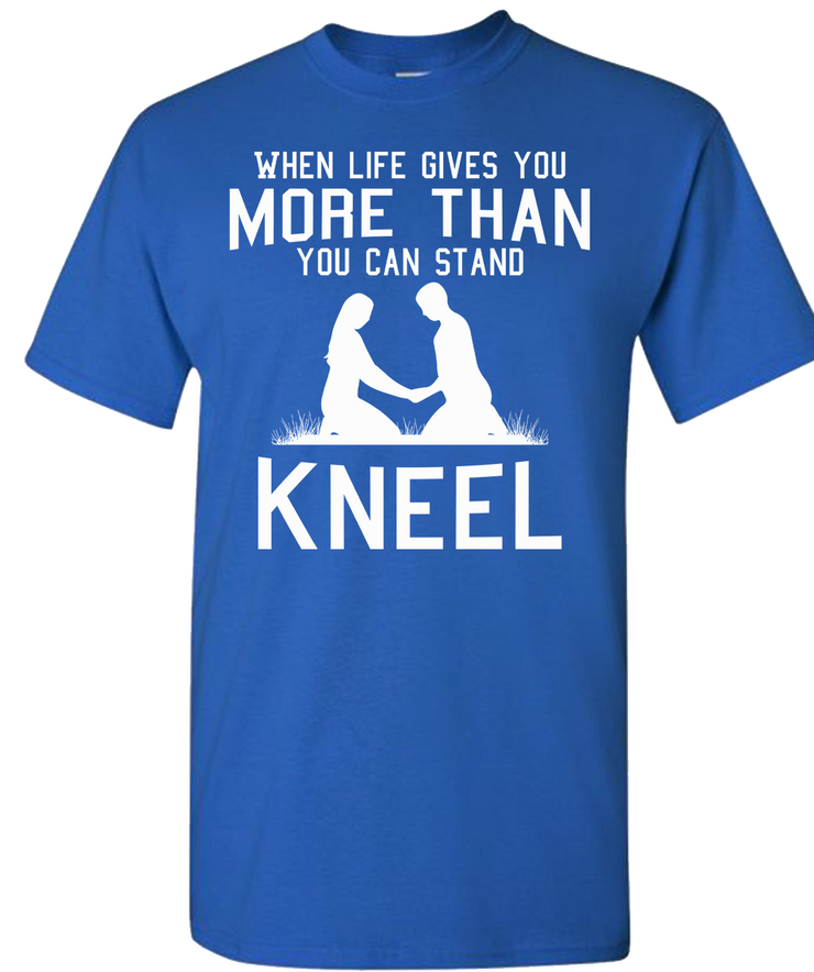 Kneel Short Sleeve T-Shirt - Royal