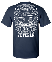 Blood Sweat and Tears Short Sleeve T-Shirt - Navy