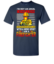 Im A Firefighter Short Sleeve T-Shirt - Navy