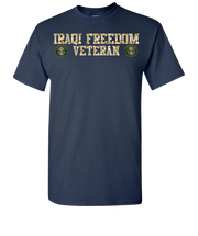 Iraqi Freedom Army Short Sleeve T-Shirt - Navy