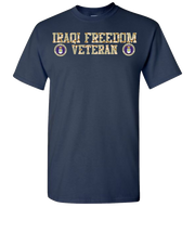 Iraqi Freedom Airforce Short Sleeve T-Shirt - Navy
