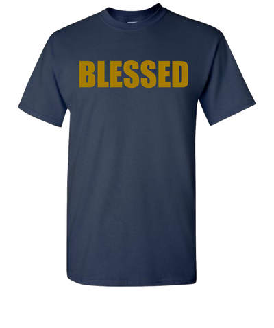 Blessed Short Sleeve T-Shirt - Navy