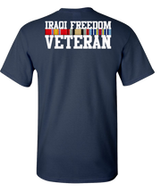 Iraqi Freedom Vet Short Sleeve T-Shirt - Navy