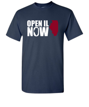 Open-Illinois-Short-Sleeve-T-Shirt-Navy