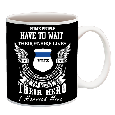POLICE MARRIED CUP