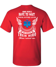 EMS Raised Me Short Sleeve T-Shirt - Red