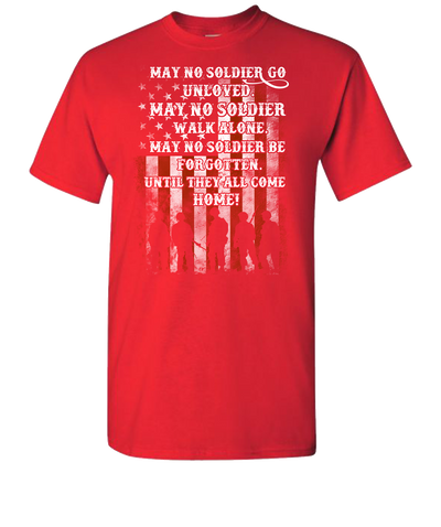 May-No-Soldier-Short-Sleeve-T-Shirt-red