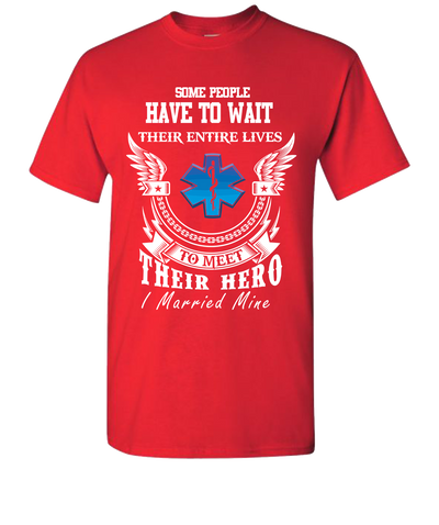 EMS Married Short Sleeve T-Shirt - Red