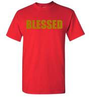 Blessed Short Sleeve T-Shirt - Red