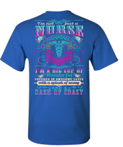 Awesome Nurse Short Sleeve T-Shirt - Royal
