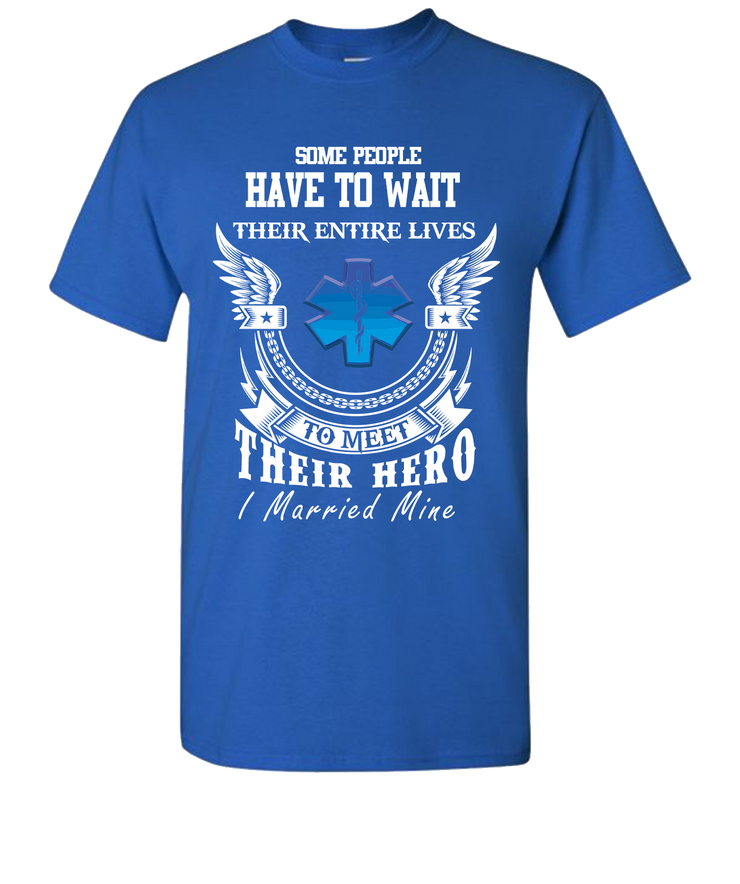 EMS Married Short Sleeve T-Shirt - Royal