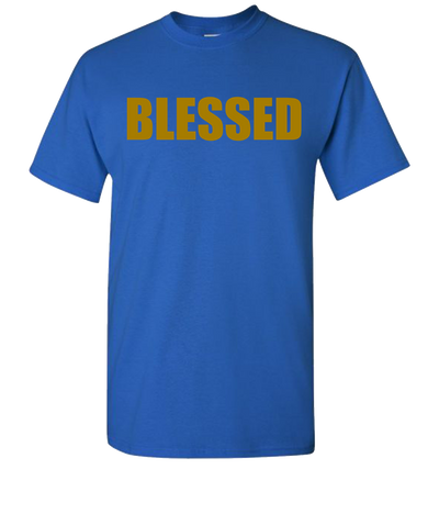 Blessed Short Sleeve T-Shirt - Royal