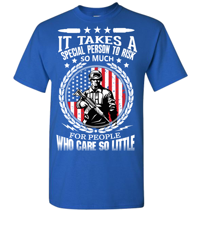 It Takes A Special Person Short Sleeve T-Shirt - Royal