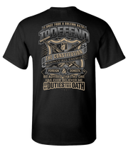 Solemn Oath Short Sleeve T-Shirt - Black