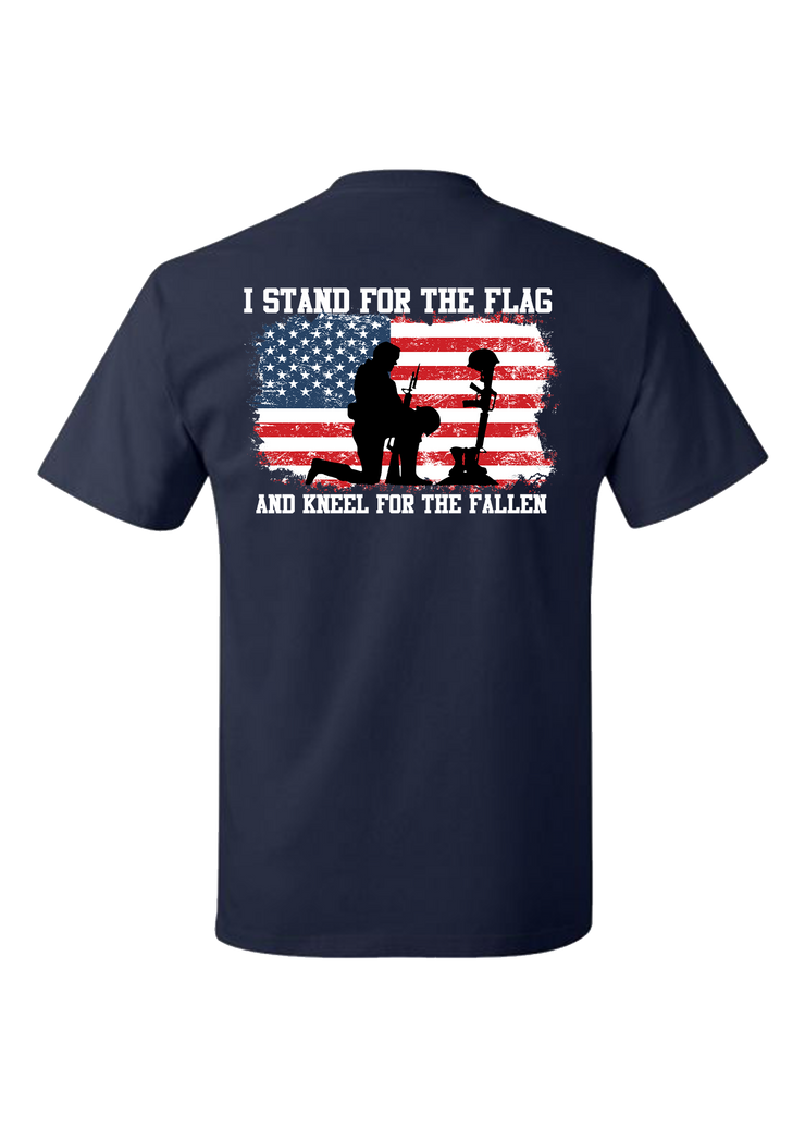 Stand for the Flag T-Shirt - Navy