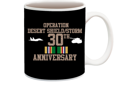 Operation Desert Storm/Shield 30th Anniversary Coffee Cup