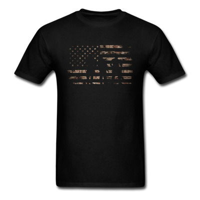 Desert Storm Flag T-Shirt - Black